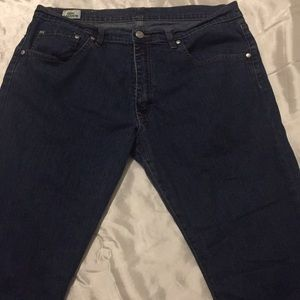 LACOSTE High Rise Blue Jeans